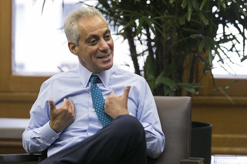 Mayor Rahm Emanuel needs to play hardball with lenders.