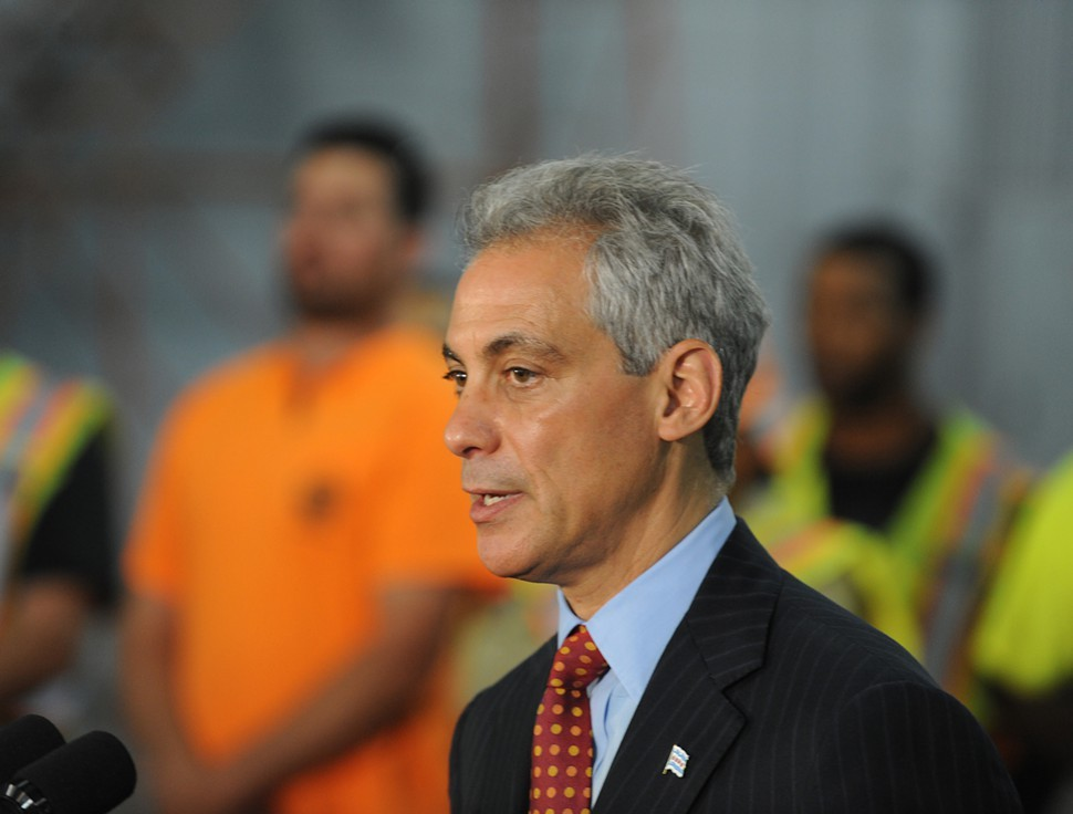 Mayor Rahm Emanuel: see you sometime?