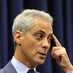 Mayor Rahm meets the people no more