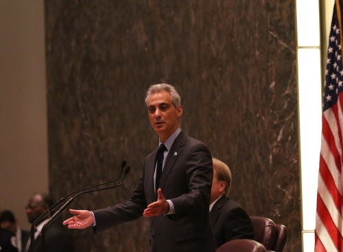 Mayor Rahm miraculously finds some TIF money to hire a few teachers—just in time for next years election.
