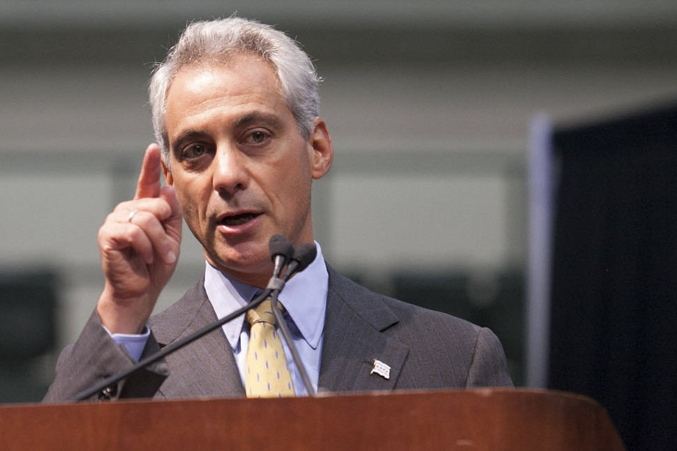 Mayor Rahm points to where the money is: TIFs, of course.