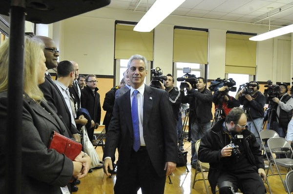 Mayor Rahm promises hell listen, but come on.