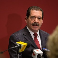 "Mayoral challenger Jesus ""Chuy"" Garcia tells skeptical reporters that he really does have a financial plan for the city."