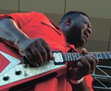 "Michael ""Iron Man"" Burks plays Sunday 6/12 with Lonnie Brooks, Eddy ""the Chief"" Clearwater, and Rick Estrin - JAMES FRAHER"