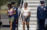 Michelle Obama Gets Schooled on Shorts