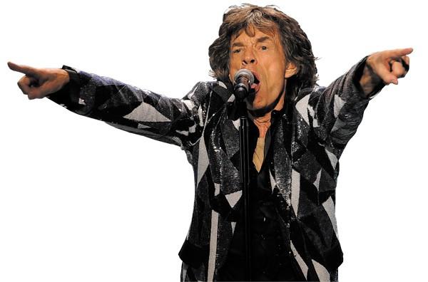 Mick Jagger - CHRIS PIZZELLO