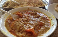 One Bite: <em>mirchi ka salan</em> at Ghareeb Nawaz
