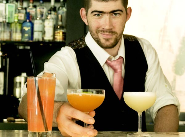 Mixologist Mike Ryan at Sable