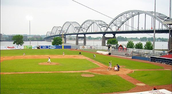 Modern Woodmen Park, currently home to the Quad Cities River Bandits,  dates back to 1931 and features a cornfield along the left-field line. - JOEL DINDA