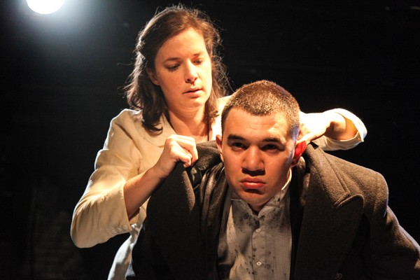 Molly Fisher and Rudy Galvan in Hellish Half-Light