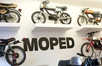 Moped now open to service and sell . . . mopeds