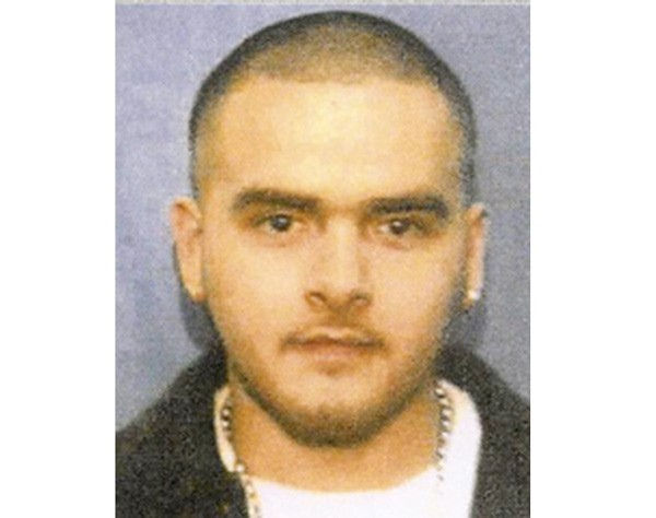 Mug shot of Pedro Flores, August 20, 2009