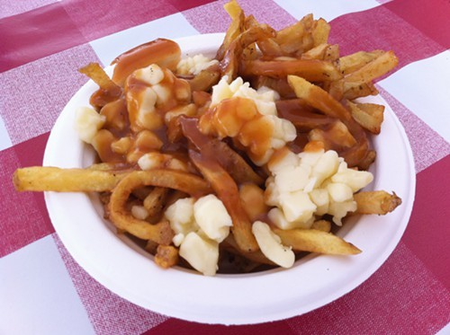 My first poutine of the day . . . Can you even say that?
