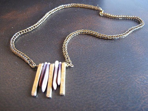 Necklace by Body at Metal, a line featured at Eskell this weekend.