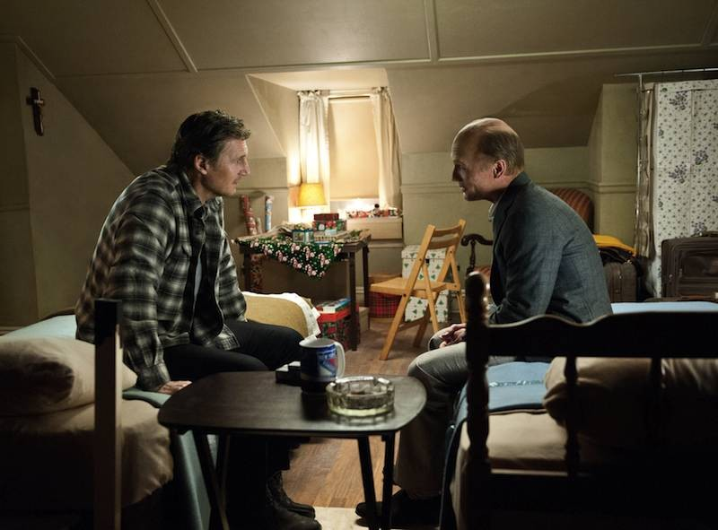 Neeson and Ed Harris in Run All Night