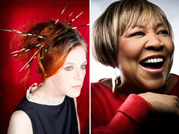 Neko Case and Mavis Staples