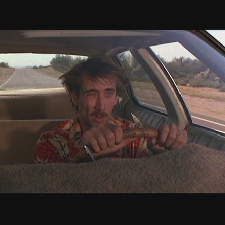 Nic Cage in Raising Arizona