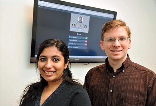 Nishana Ismail and Tim Deppen, creators of Servabo
