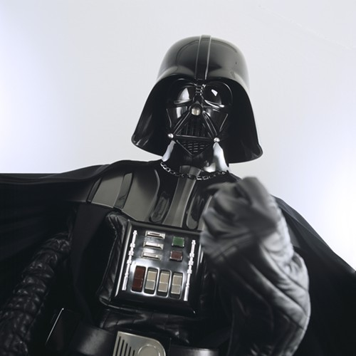No, this isnt an elected official at City Hall--its a Darth Vader costume expected to be housed in the Lucas Museum of Narrative Art, which officials say will be located in Chicago.