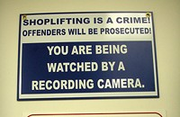 Not Everybody Is Cut Out for Shoplifting