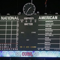 At 1:34 in the morning, Cubs win!