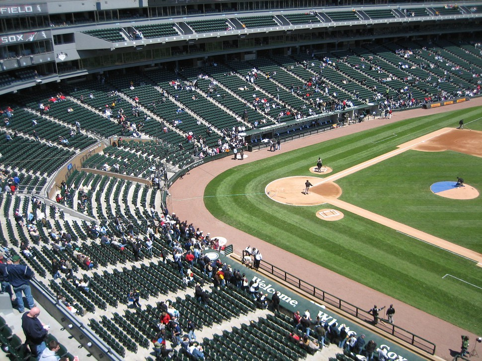 Now they know how many holes it takes to fill White Sox Park.