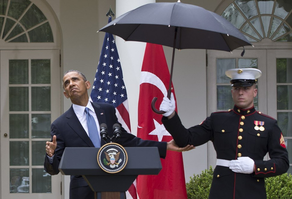 Obama, testing the climate