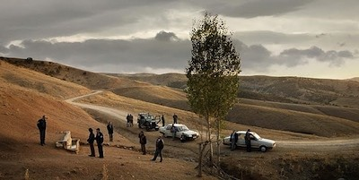 One of the quiet, quiet hillsides of Once Upon a Time in Anatolia
