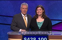 Catching up with the (almost) indomitable 20-time <i>Jeopardy!</i> champ Julia Collins