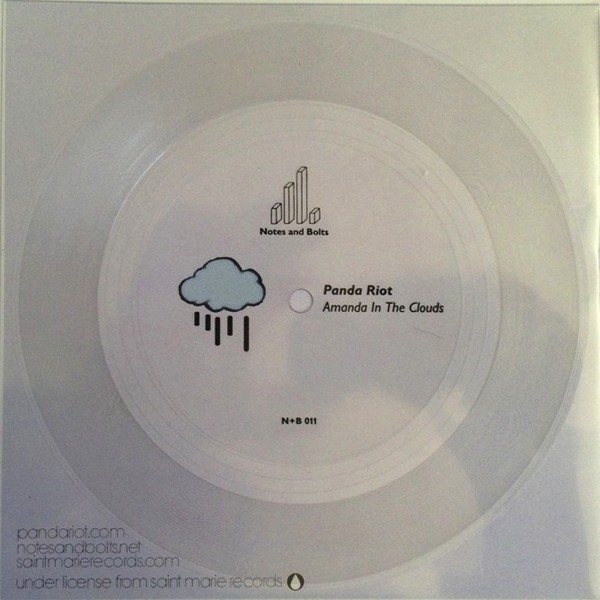 "Panda Riot's ""Amanda in the Clouds"" flexi disc"