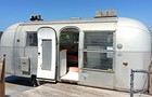 Peek inside an Airstream trailer on a rooftop in Ravenswood