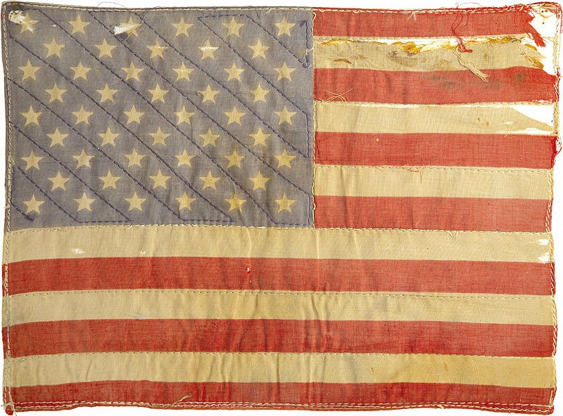 Peter Fondas American flag patch from Easy Rider!
