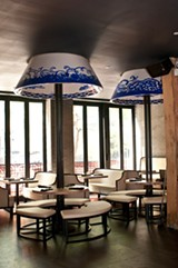 Lao 18 is a shiny grab for mainstream recognition, smack-dab on the Hubbard Street restaurant row. - ANDREA BAUER
