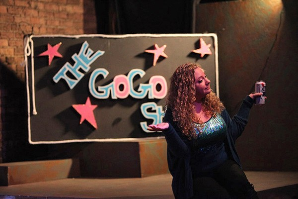 [photograph of Mary O'Connor, The Gogo Show]