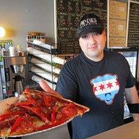 There's a Monster by the slice—and a cactus pizza—at Pie-Eyed Pizzeria