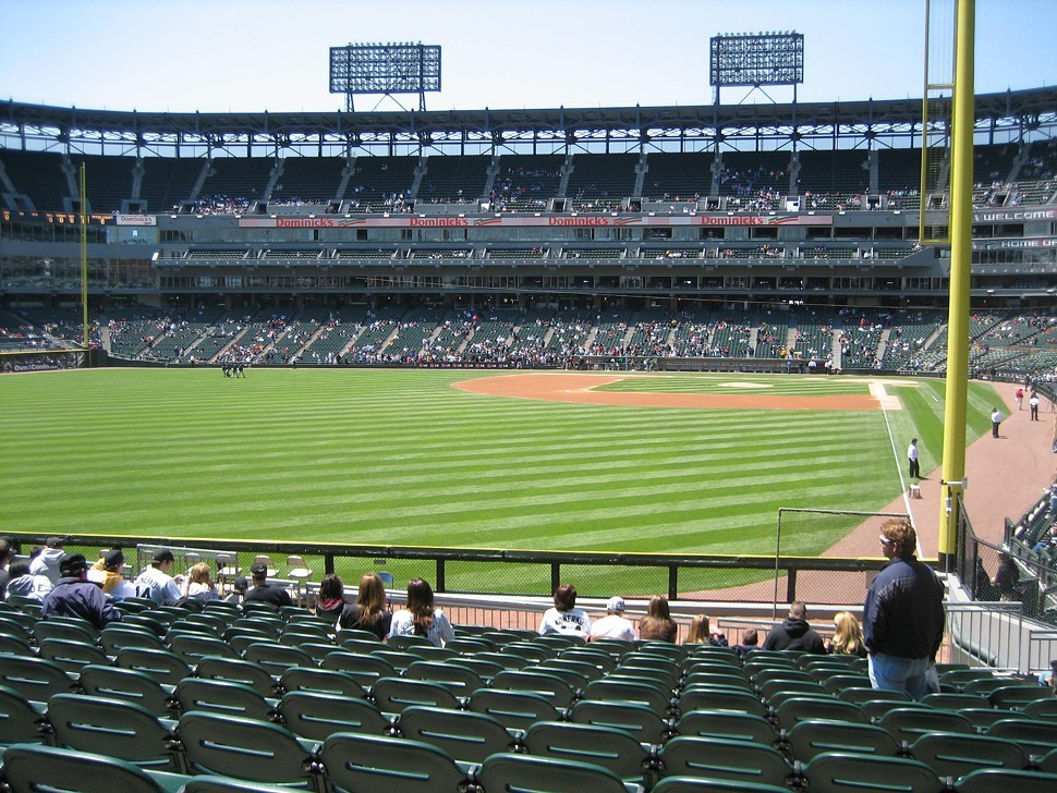 Plenty of good seats available at White Sox Park: Im just sayin.