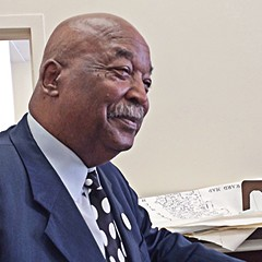 Political veteran Robert Shaw sees no reason why he can't become mayor