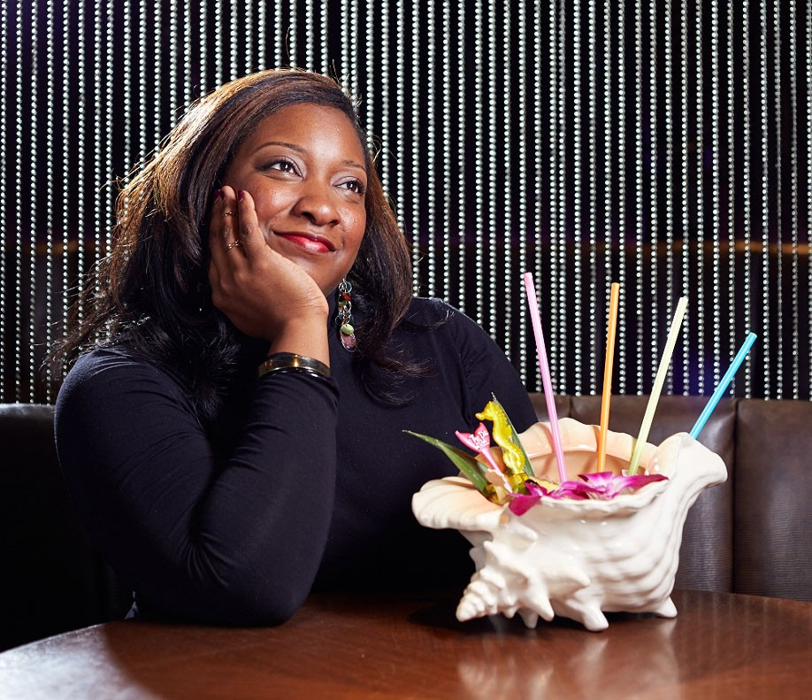 Promontory bartender Dianna Sanders at Three Dots and a Dash - JASON LITTLE