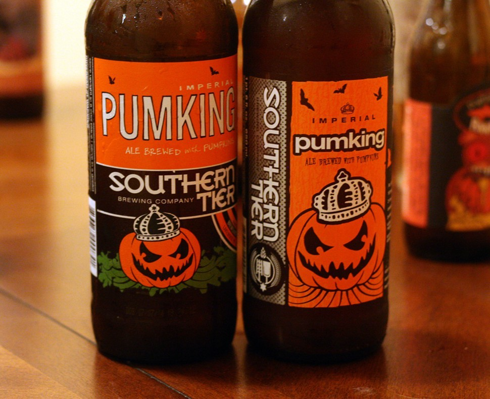 Pumking 2014 (left) and 2013 (right)