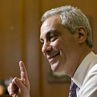 Rahm's reelection campaign is largely funded by people outside Chicago