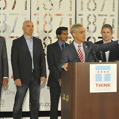 Rahm Emanuel loves startups and the tech industry