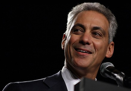 Rahm Emanuel met with GOP funders, shadow government figures, favor seekers, contractors, mayoral campaign contributors, and longtime insiders last fall.