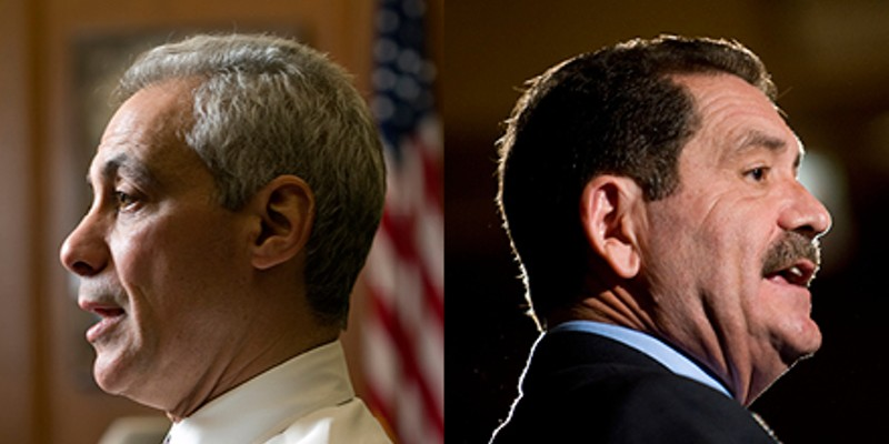 Rahm or Chuy? Watch us track the returns live from the Hideout