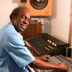 "Ralph ""Soul"" Jackson in home studio"