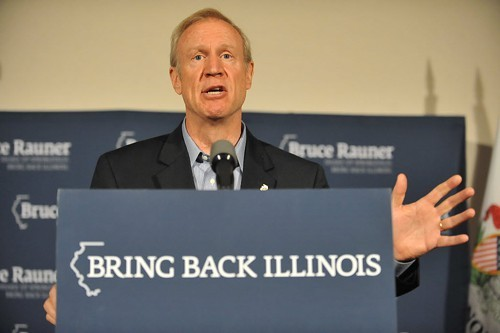 Rauner opened up about his business strategy back in 04.