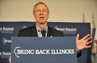 Illinois is no state for old cronies, says Bruce Rauner