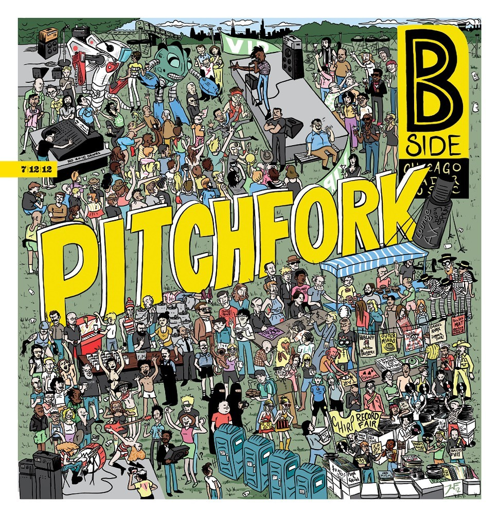 Reader B Side cover: Pitchfork
