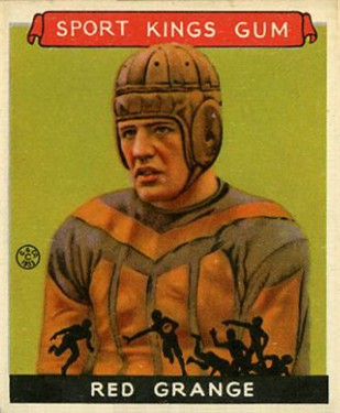 Red Grange no longer plays for the Bears