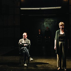 Red Tape Theatre's Hamlet Is Dead. No Gravity. presents mousetraps within mousetraps