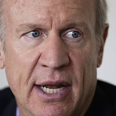 Republican gubernatorial candidate Bruce Rauner has ties to a company that makes money by punishing poor people for minor violations.